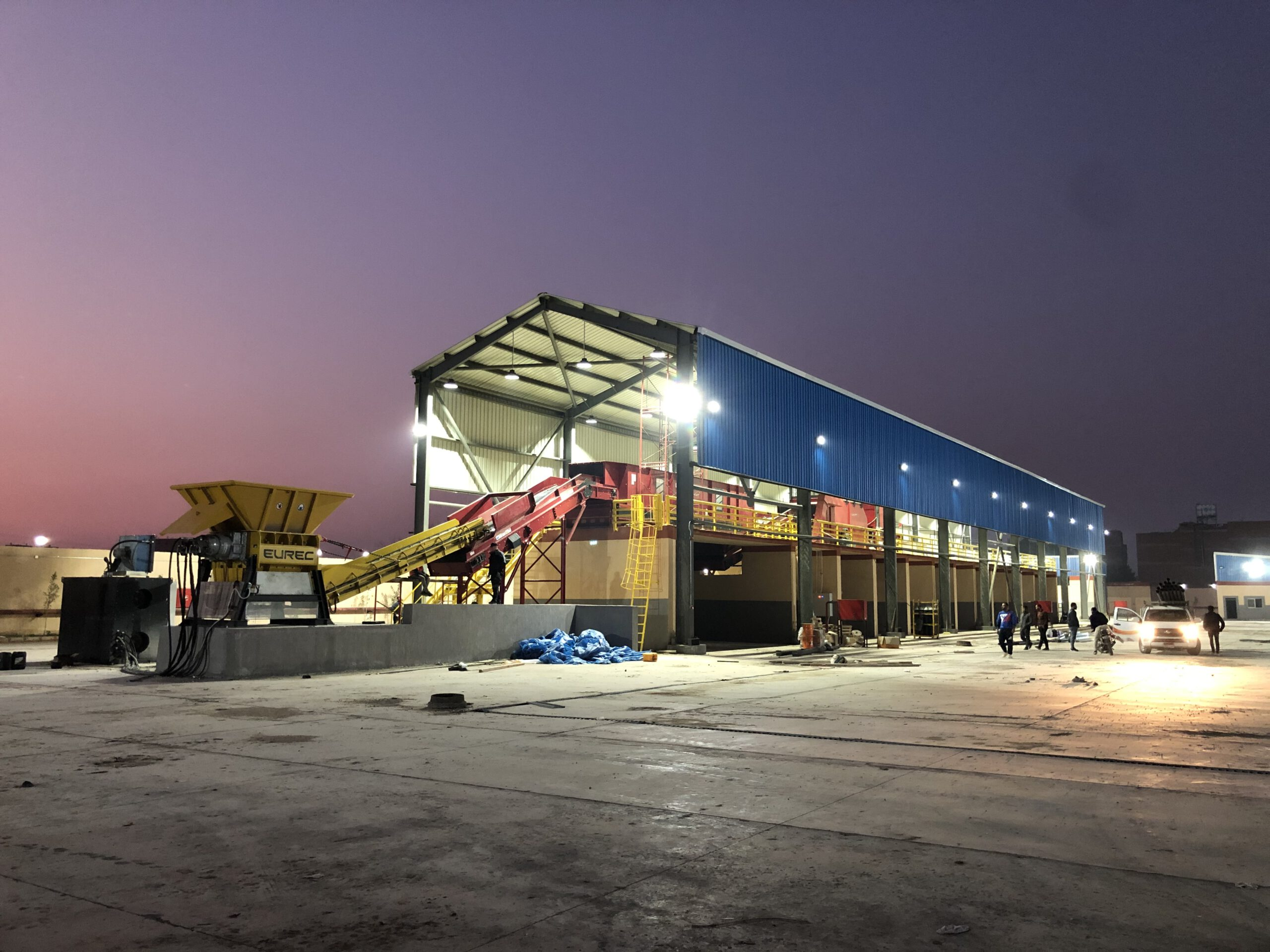 Stellio Projects - Lubo Systems- Monufia MWS facility